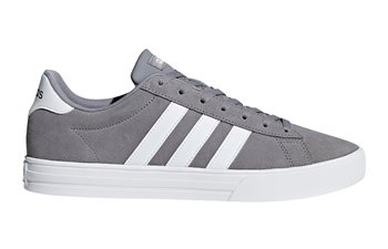 adidas Daily 2.0 Trainers - Mens - Grey/White  - Click to view a larger image
