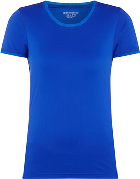 Energetics Gusta 3 Short Sleeve Tee - Womens - Blue Royal  - Click to view a larger image
