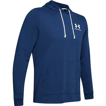 Under Armour Sportstyle Terry Hoodie - Mens - American Blue/Onyx White  - Click to view a larger image