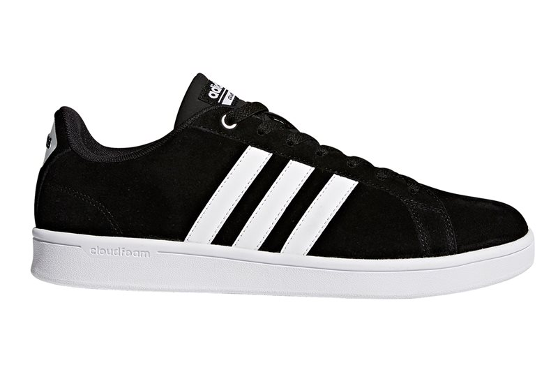 4153101a7 adidas Cloudfoam Advantage Trainers - Mens - Black White Silver - Click to  view
