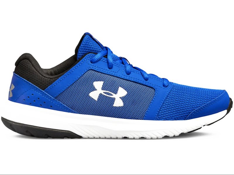 9a535c222a789 Under Armour Unlimited GS Shoes - Boys - Team Royal White Metallic Silver -