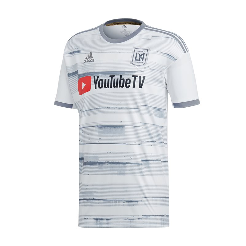 515f2c8f0c4 adidas Los Angeles FC 2019 20 Short Sleeve Away Jersey - Adult - White   68.83